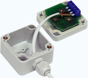 Подключение кабеля к преобразователю интерфейса