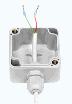 Установочная коробка с кабелем