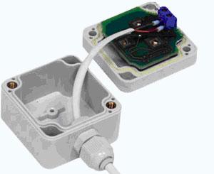 Подключение кабеля к установочной коробке