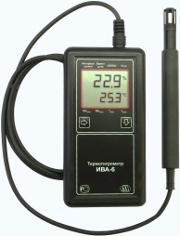 Внешний вид  термогигрометров ИВА-6А