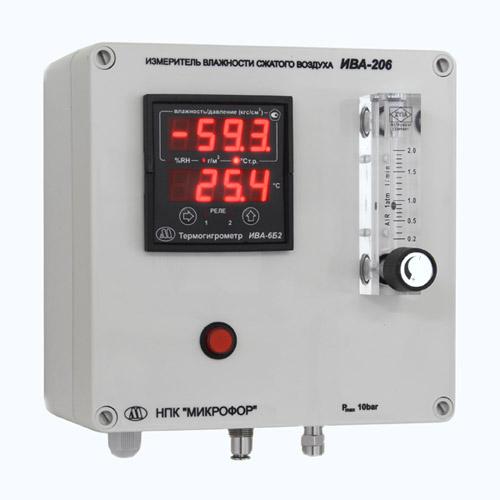 Внешний вид измерителя влажности ИВА-206, ИВА-208